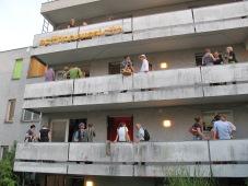 Eröffnung Geiler Block